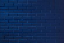 Blue Brick Wall,blue Brick Background Wall Texture,dark Blue Wallpaper,modle Background