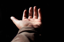 Empty Hand Of A White Man
