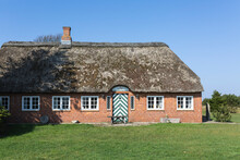 Denmark, Romo, Rustic House With Thatched Roof
