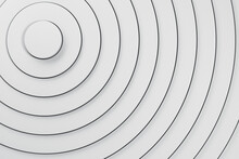 Three Dimensional Background Of Whiteoverlapping Rings