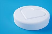 Pill With Social Media Likes 3D Illustration