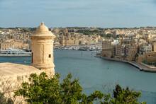 Malta, South Eastern Region, Valletta, Harbor Of Historical City