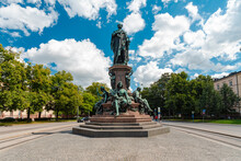 Maxmonument, King Maximilian II Memorial, Munich, Germany