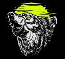 Wild Wolf Art