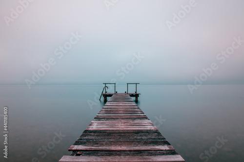 Tela Lac d'Annecy, Le ponton