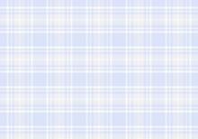 【背景素材】タータンチェック柄016 英国風シームレスパターン(青&ベージュ&白色)