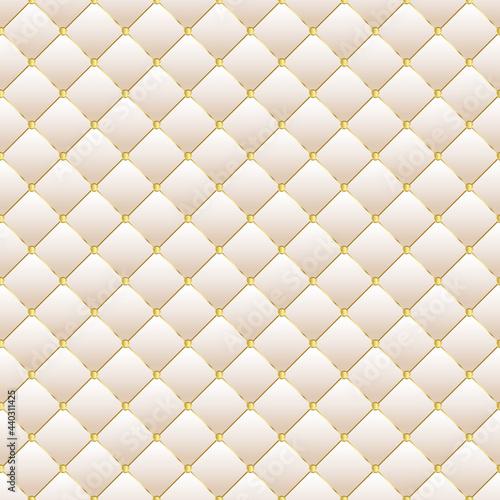 Tapety Glamour  jasne-tlo-tapicerki-w-ksztalcie-diamentu-ze-zlotymi-guzikami