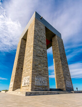 The Canakkale Martyrs Memorial Is A War Memorial Commemorating The Service Of About Turkish Soldiers Who Participated At The Battle Of Gallipoli.