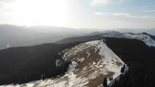 Mountain Range Spring Landscape Bukovel