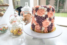 Floral And Sweet Desserts