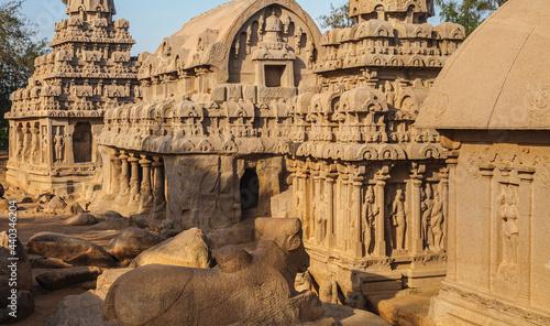 Obraz na plátne Mahabalipuram