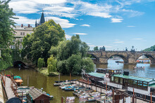 View Of Old Town In Prague