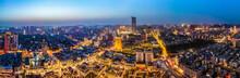 Aerial Photography Of Xuzhou, Jiangsu, Urban Architectural Landscape, Skyline Night View