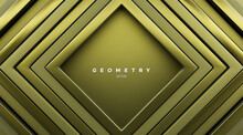Abstract Geometric Background. Square Frames.