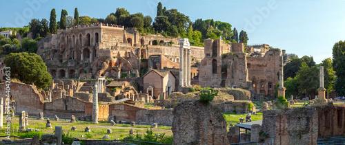 Photo Forum romain Capitoline Hill, Rome, Italy