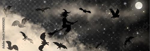 Fotografija Halloween vector illustration