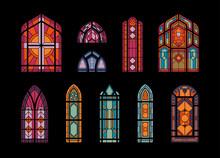 Church Windows Mosaic Set