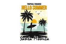 Hello Summer Santa Monica Design