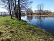 Rzeka wkra wiosna