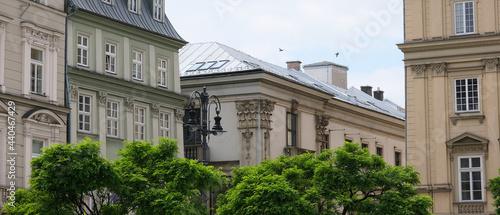 Widok z Rynku Głównego na ul. Św. Anny