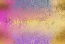 Golden Abstract  Decorative Paper Texture  Background  For  Artwork  - Illustration