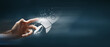 Leinwanddruck Bild - concept of fast business success.