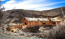 Ruina En La Montaña De Mendoza