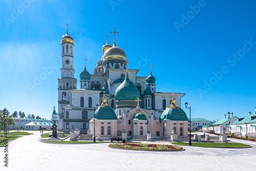 Fotografiet Christian Orthodox monastery in Istra