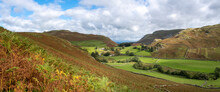 Howe Grain From Beda Fell Near Ullswater Lake In The Lake District, UK.