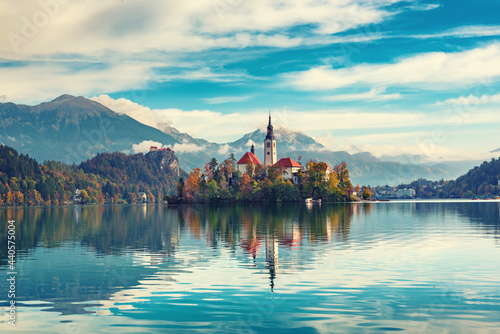 Fotografie, Obraz Lake Bled, Slovenia