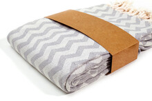Soft Peshtemal Turkish Towel Folded Colorful Textile For Spa, Beach, Pool, Light Travel, Healthy Fashion And Gifts. Traditional Turkish Bath Material, Scarf