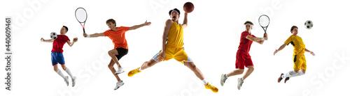 Fotografie, Obraz Multi sport collage