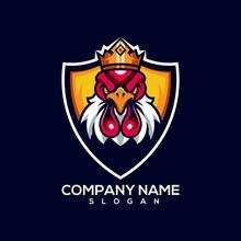 Rooster Logo Illustration