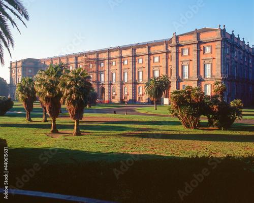 Obraz na plátně Napoli. Museo e Real Bosco di Capodimonte