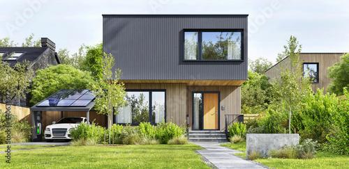 Fotografiet Modern Architecture Home