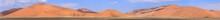 Namibian Sand Dunes Panorama