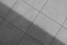 Floor Tile Texture With Shade And Shadow