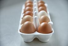 Dozen Eggs In Paper Carton