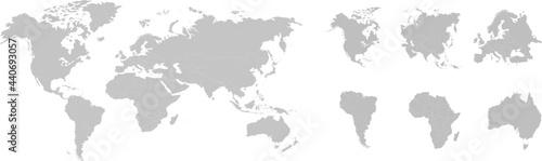 Canvastavla Planet Earth