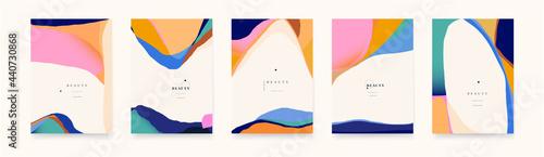 Fotografia, Obraz Trendy abstract geometric backgrounds