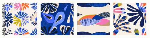 Fotografie, Obraz Modern colorful abstract patterns