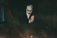 Praying Evil Nun