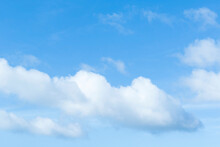 The Sky Surface Is Cloudy With A Slight Blue Sky Area.