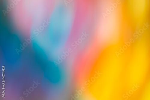 Slika na platnu Absract Blurred Bokeh Colorful Backdrop