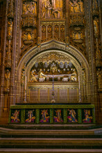 Internal Shots Of Liverpool Anglican Cathedral.