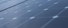 Solar Panel Cells Close Up - Alternative Energy.