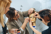 Eyelash Extensions Training Course In Cosmetology Beauty Esthetic Center