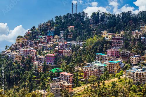 Obraz na plátne The City of dharamsala in India