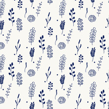 Flowers Vector, Floral Background, Plants, Purple Background, Wildflowers