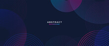 Abstract Background With Colorful Geometric Shapess. Digital Future Technology Concept. Vector Illustration.